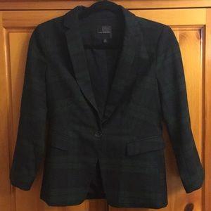 The Limited Navy and dark green blazer jacket